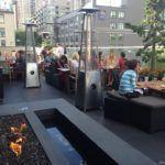 Keg rooftop patio Vancouver
