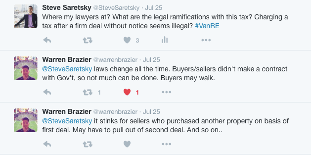Vancouver lawyer on foreign buyer tax
