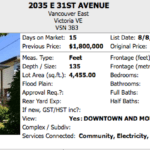 Price reduction East Vancouver