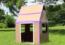 cardboard box home