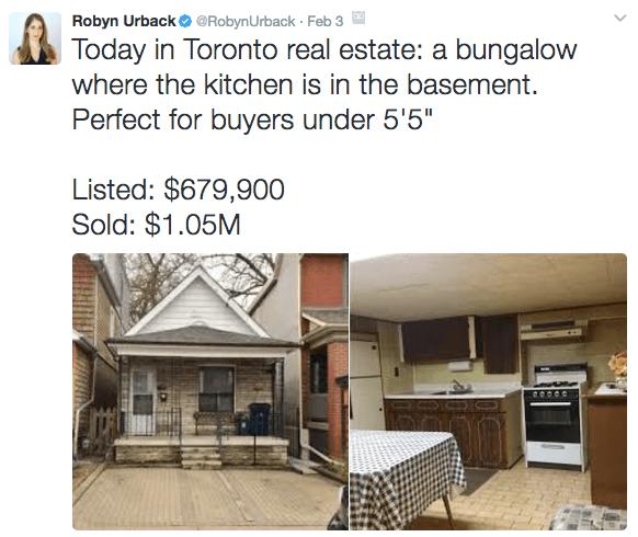 Toronto bidding wars