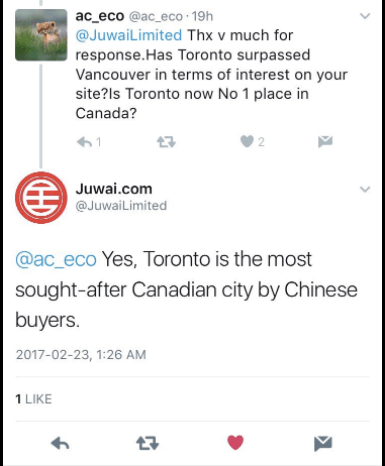 Foreign buyers Toronto real estate