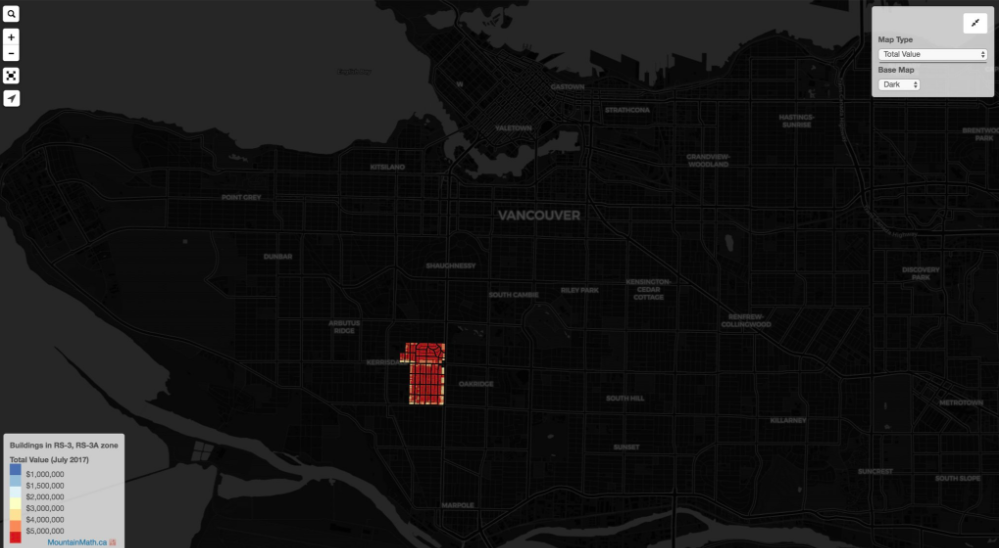 zoning for houses in Vancouver