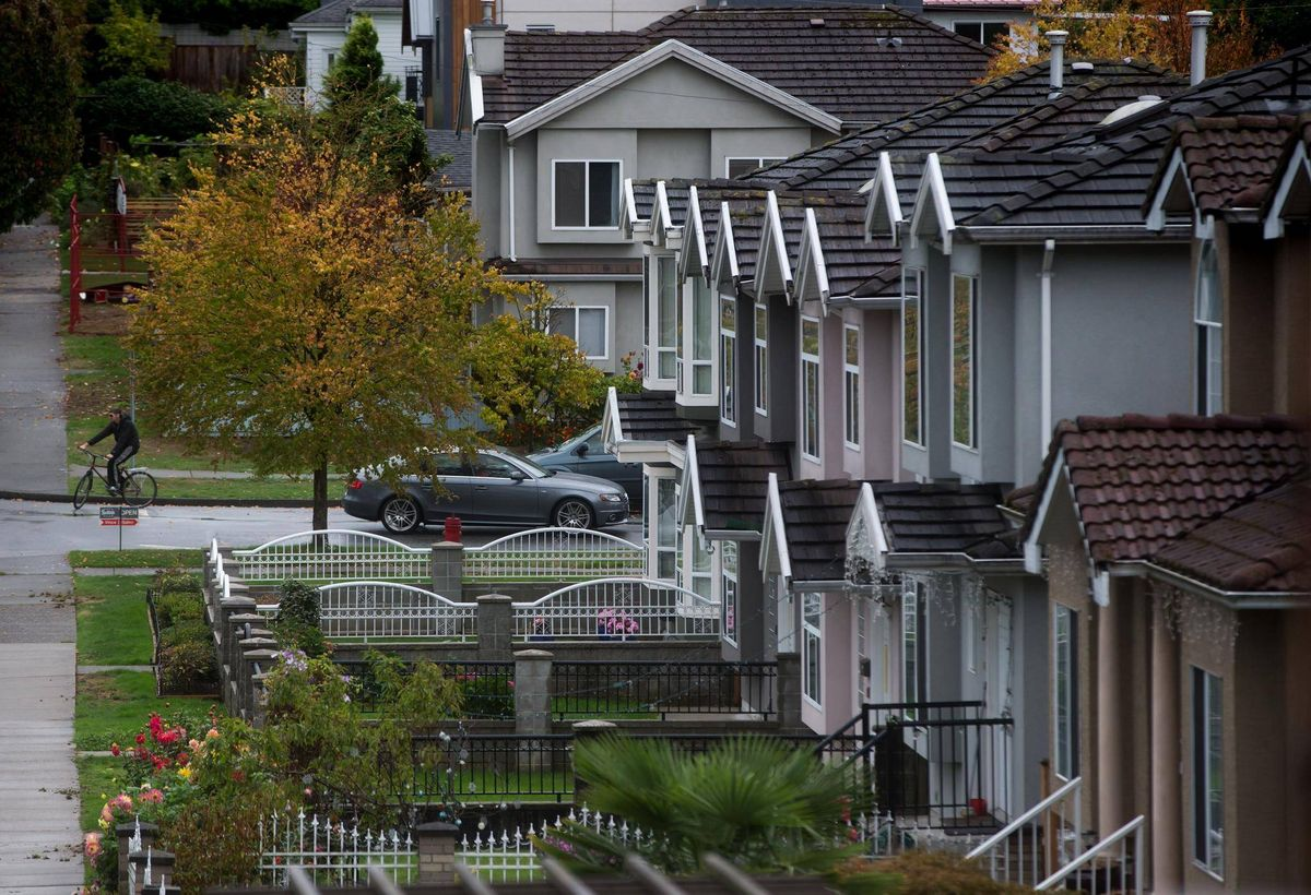 Vancouver detached sales October